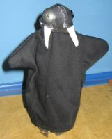 Connie's Walrus by puppetry