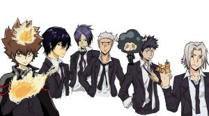 Vongola's Guardians by ODesigner