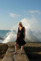 Waves Crashing Stock 3 by Storms-Stock