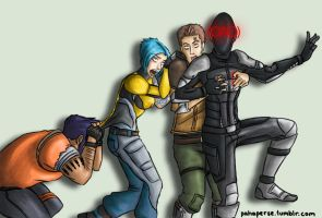 BORDERLANDS: Haunted House Time by sheiku92