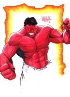 Red Hulk by LangleyEffect