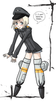 WWII Mecha lolicon by EvilCreampuff