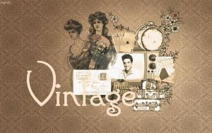 Wallpaper Vintage by LadyNataly92