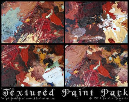 Textured Paint Pack by fetishfaerie-stock