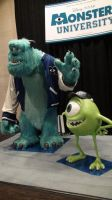 James P Sullivan and Mike Wazowski at D23 2013 by trivto