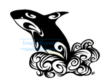 Orca Whale Tattoo Design by InsaneRoman