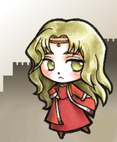 Little Guinevere by OutOfTheOrange