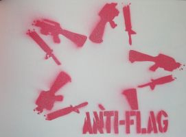 Anti-Flag by punks
