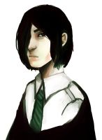 Young Snape by DecemberComes