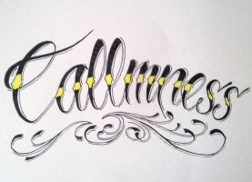 calmness with 2 L's by GeertY