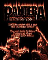 Pantera Poster by hartattack13