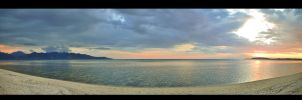 Panorama From Gili Air by dirtyphonik