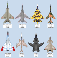 Aircraft Sheet: Favorites by Kryptid