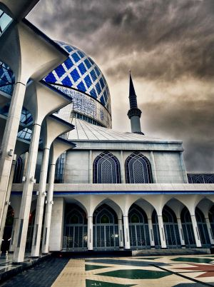 Blue Mosque KL by Celestial22