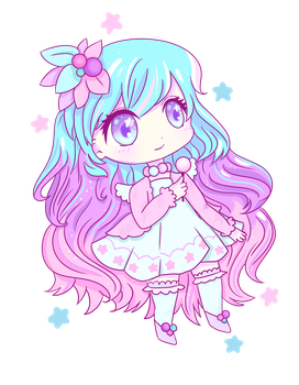 Pastel Chibi by noorkawaii