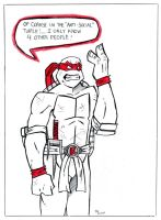 TMNT: Raph The Anti Social One by TheMonkeyYOUWant