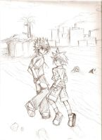 Roxas to Sora by ttn008