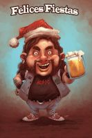 Felices Fiestas by katcanales