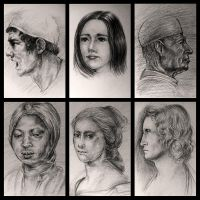 Drawing study from old master since 2003 #1 by Lilaccu