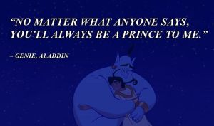 Disney Quotes Aladdin Genie by qazinahin