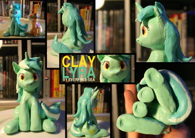 Clay Lyra (Extra photos) by FiddleArts