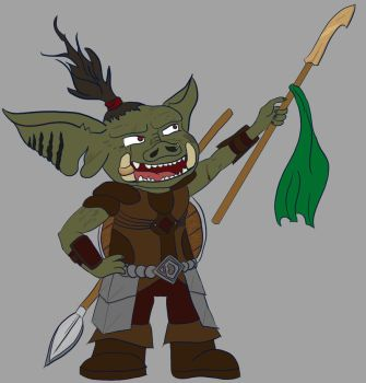 Dart the Hog-Goblin - Digitised and Colourised by br3ttl3w