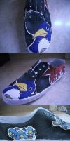prinny shoe by Krizteeanity