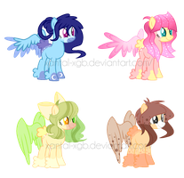 ~Adoptables~. Female Butthurr's :CLOSED: by XantaL-XGB