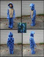 Quaggan calf costume by Koreena