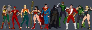 Justice League by Jiggeh