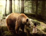 Baer and Child by Metalius666