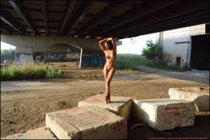 Merrique: Under the Highway 2014 by Saledin