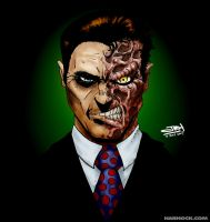 Two Face - colours by OrcaDesignStudios
