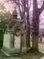 Tombe du Pere-Lachaise III by Thelema001