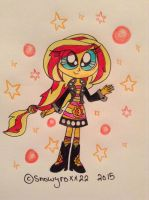 MLP: Sunset Shimmer by snowyroxx22