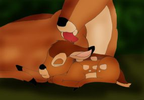 Baby bambi by 95JEH