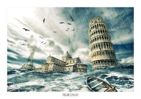 The Fall Of Pisa by FelixTo