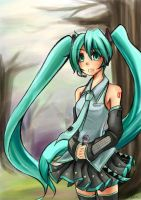Miku by kazel-wind