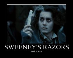 Sweeney Todd Motivational by RabidFangirl409