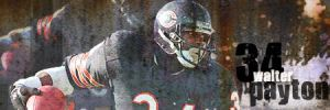 Walter Payton signature by chicagosportsown