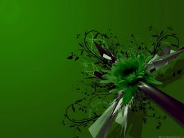 Green C4D Wallppaper by Dan4ArChAnGeL
