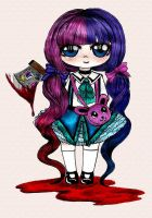Cute Little Psychopath by SuperPandaApocalypse