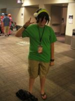 SacAnime Cosplay: Toph by wolfforce58