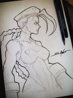Cammy - Quick Sketch by Sano-BR