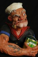 POPEYE sculpture, by Micky Betts. by Mixta110