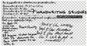7_handwriting_brushes_by_vers by vvvers