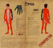 - Char Sheet: Tron - by odduckoasis