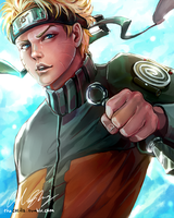 Naruto by TheCecile