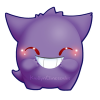 Gengar v2 by Clinkorz
