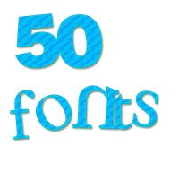 50 fONtS by editionswithstyles